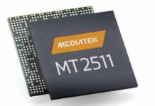 MediaTek MT2511 and MT2523 SoC for wearables