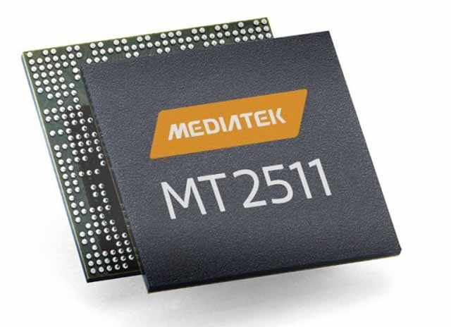 MediaTek MT2511 and MT2523 SoC for wearables
