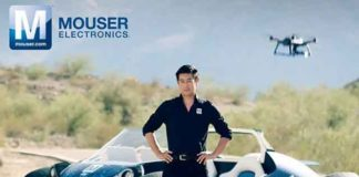 Mouser Electronics, Grant Imahara 3D-Printed Vehicle with drone technology