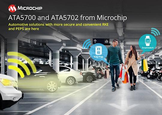 Microchip Smart Keys and Wearables