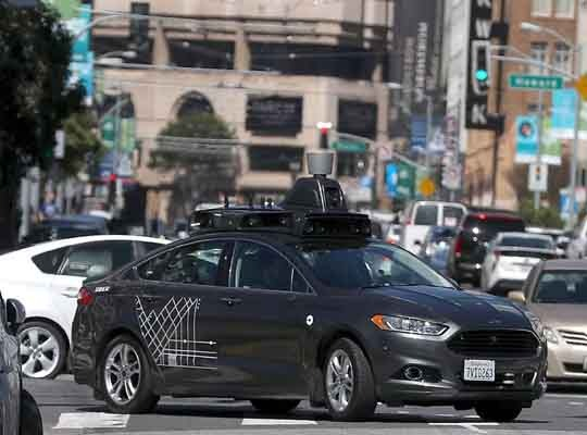 Driverless car technology