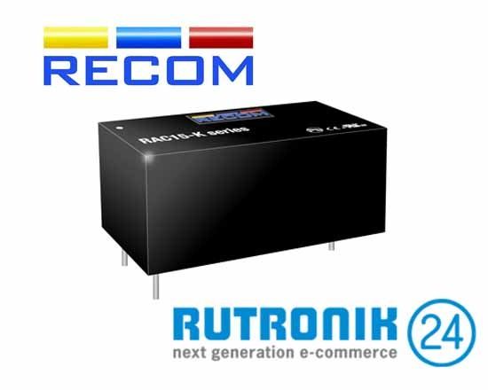 Energy-Efficient Power Supply Series from RECOM