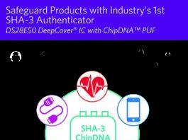 Authenticator IC with SHA3-256