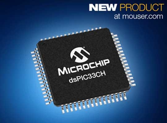 Microchip's dsPIC33CH