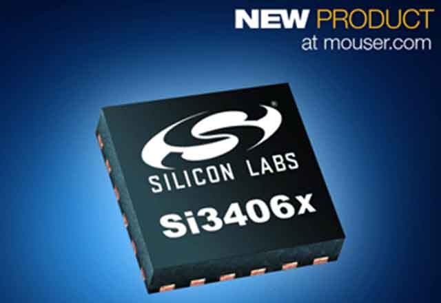 Silicon Labs' Si3406x POE+ Powered Device