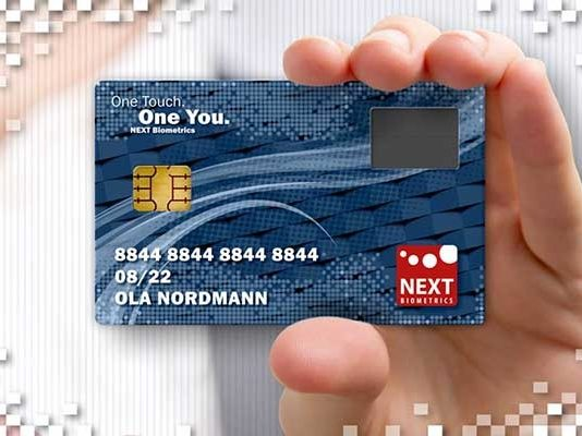 NEXT Infineon Biometrics Card