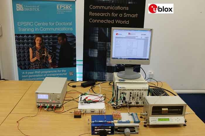 Reconfigurable Transceiver Demonstrator u-blox and Bristol