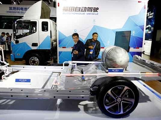 electric truck for China's EV ambitions