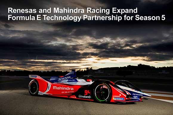 mahindra racing expand formula e technology partnership