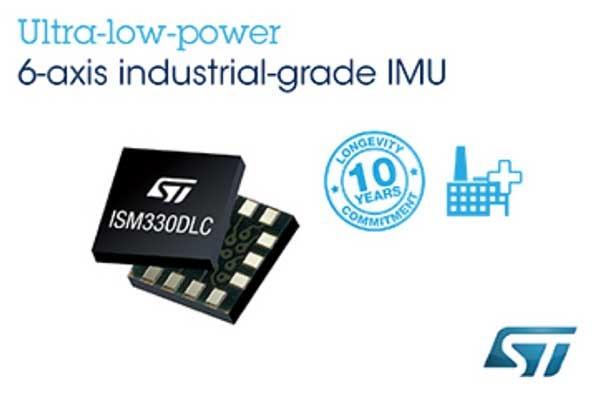 ISM330DLCsix-axis IMU