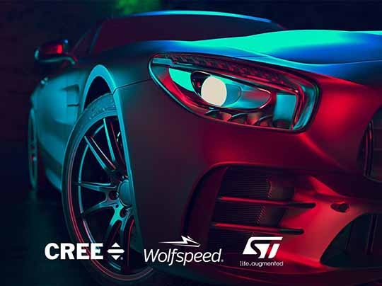 Cree Wolfspeed STMicroelectronics