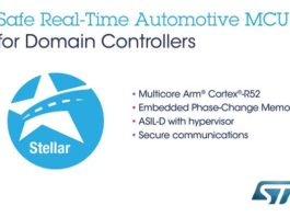 Stellar automotive microcontroller