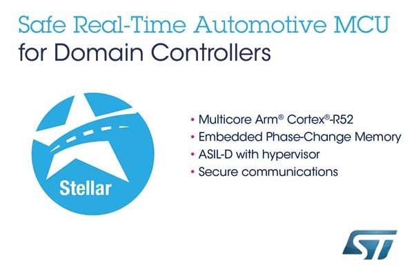 Stellar automotive microcontroller