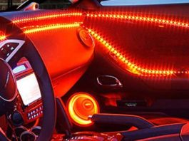 Automotive Interior LED Lighting