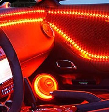 Automotive Interior LED Lighting