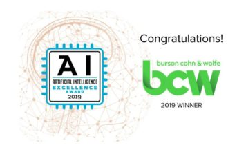 BCW Artificial Intelligence Excellence Award