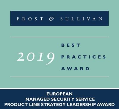Frost Sullivan Fox-IT Award