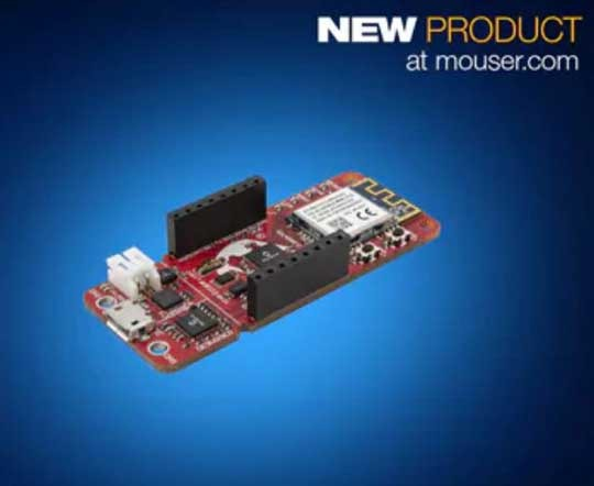 Microchip's PIC-IoT WG Development Board