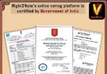 Online Right2Vote
