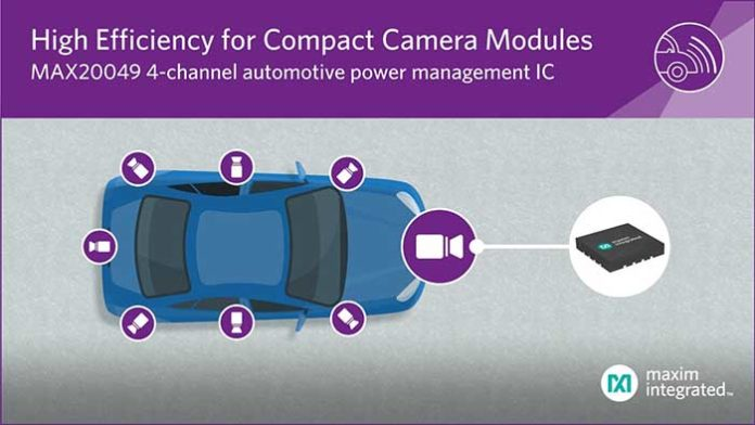 Maxim Automotive Power Management IC