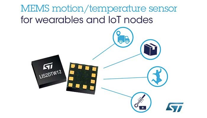 Accelerometer with High-Accuracy Temperature Sensor for