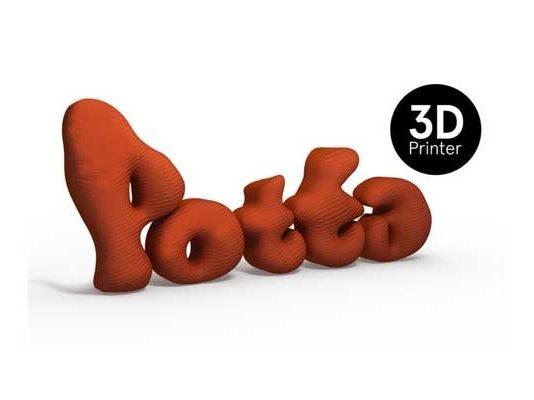 POTTA artisanal 3D printer
