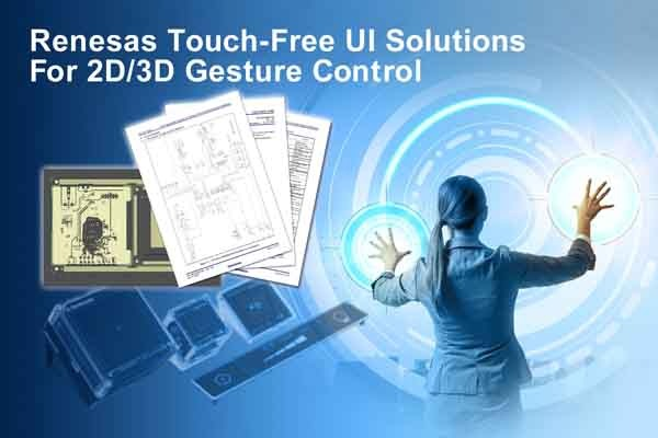 Renesas Touch Free UI Solutions