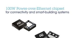 STMicroelectronics PoE chipset