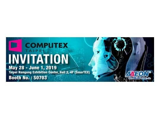AI Edge Solutions on Display at COMPUTEX Taipei 2019 by AAEON