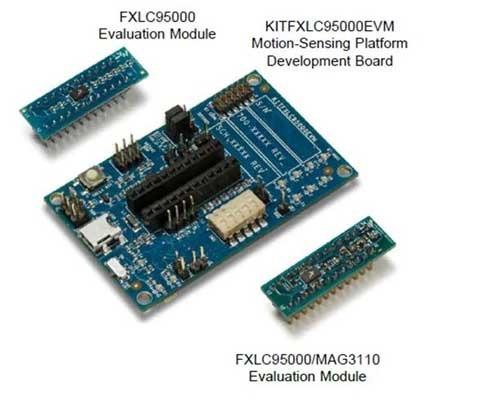 Freescale's Xtrinsic FXLC9500 32-bit MCU Sensor Fusion Hub