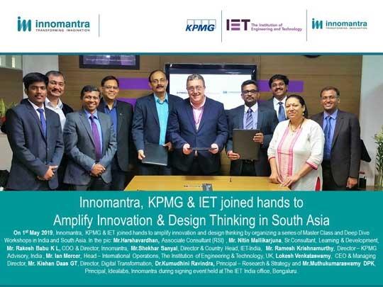 KPMG, IET and Innomantra