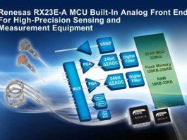 Renesas RX23E-A MCU