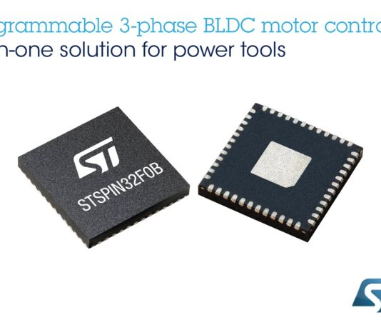STSPIN32F0B motor controller