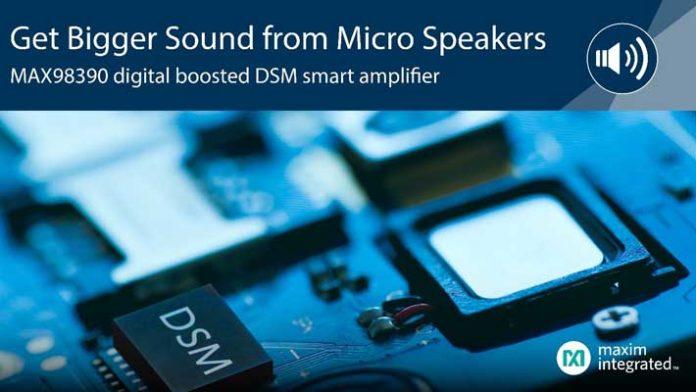 Maxim DSM amplifier