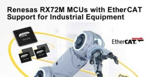 RX72M MCUs with EtherCAT