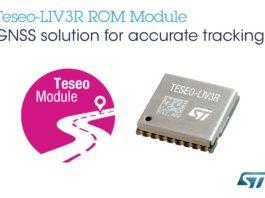 ST - Teseo-LIV3R GNSS module