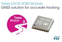 Teseo-LIV3R GNSS module