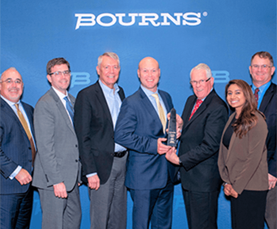 Mouser awards 2019, bourns