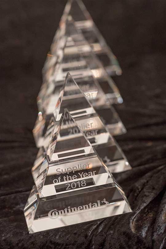 Continental Supplier 2018 Award