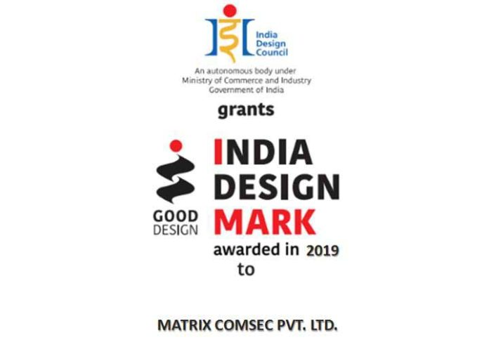 Matrix IMark 2019 Certificate