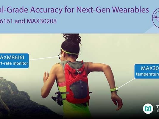 Maxim Wearable Healthcare sensor