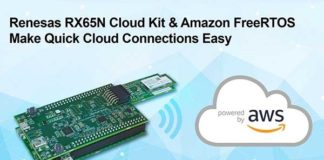 Renesas RX65N Wi-Fi Connectivity Cloud Kit