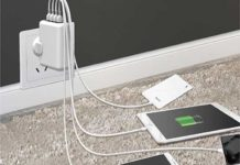 Toreto 4 USB Ports Travel Charger