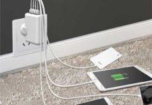 Toreto 4 USB Ports Travel Charger
