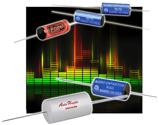 Electrocube Audio Capacitors