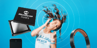 Microchip Bluetooth 5.0 Audio IC