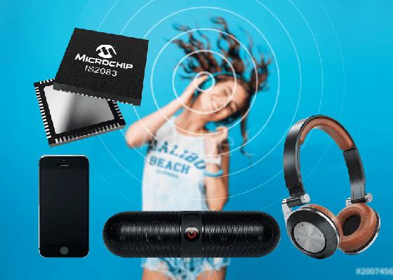 Microchip Bluetooth 5.0 Audio IC