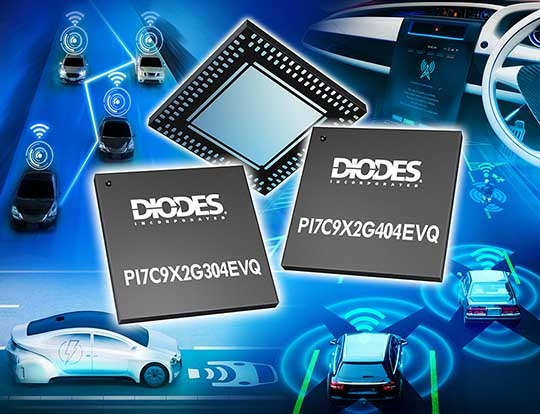Diodes PCIe switches