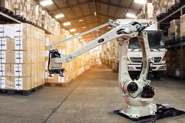 Logistics sector with AI