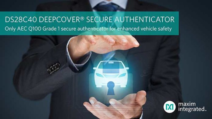 DS28C40 DeepCover secure authenticator